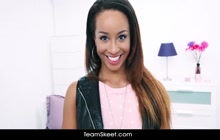 Super sexy ebony girl Teanna Trump from ShesNew