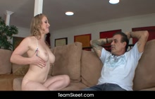 Teen Alonna Red skips school all the time just to fuck